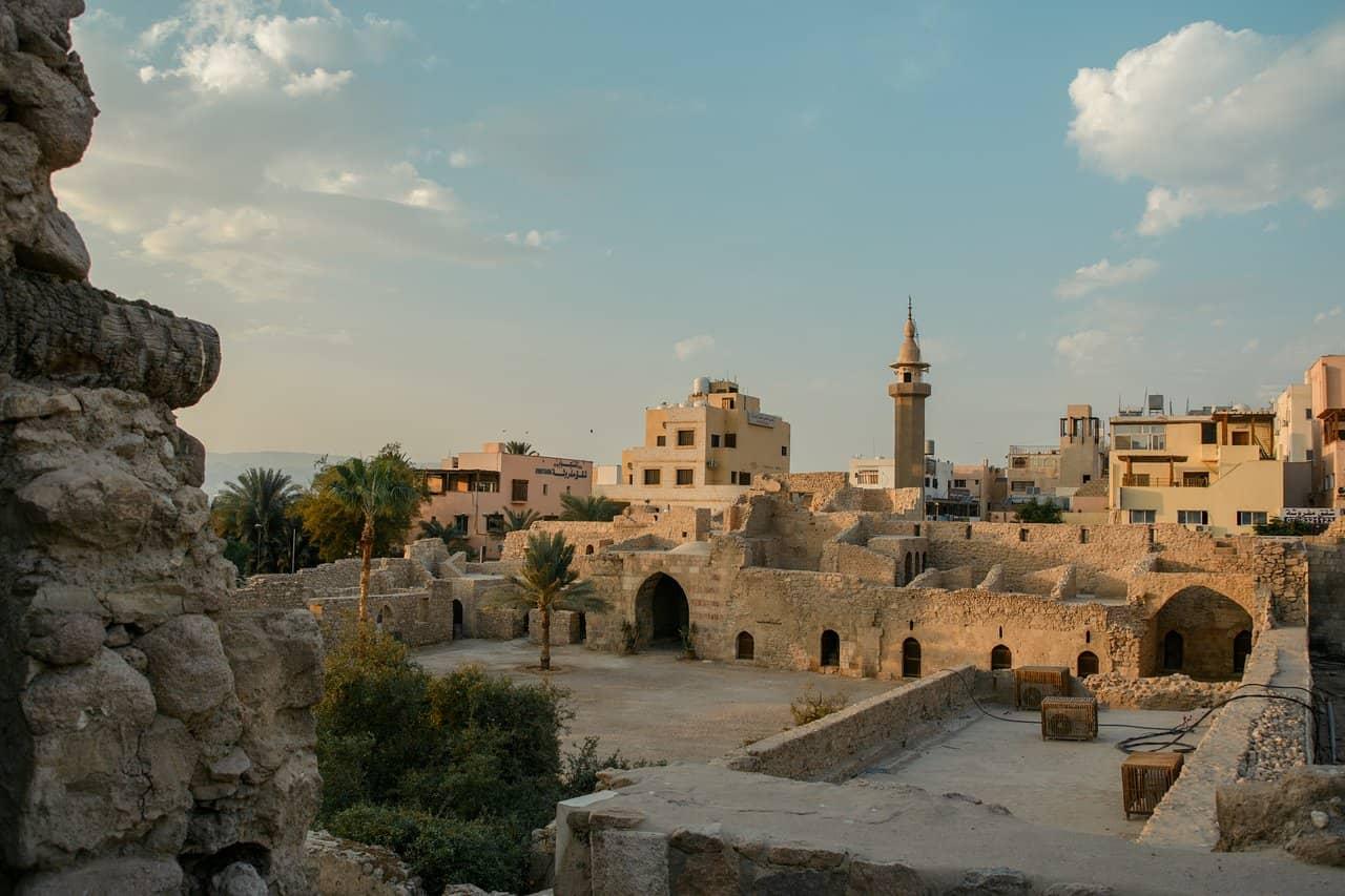 old city in aqaba city