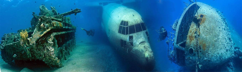 wrecks red sea aqaba