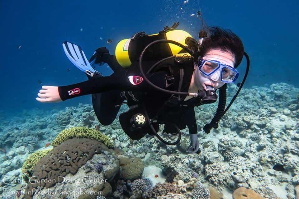 first underwater breathing