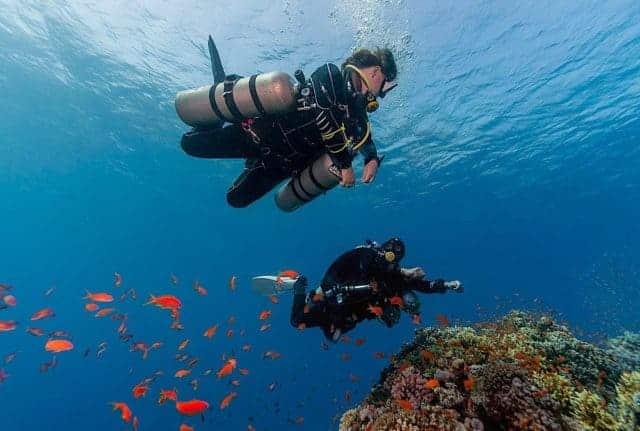 padi sidemount course aqaba