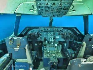 air plane cockpit, Места для дайвинга в Иордании