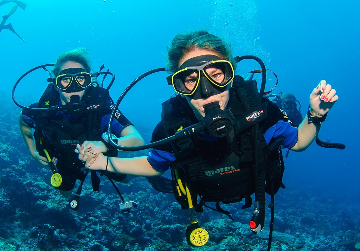 first dive, Дайвинг в Иордании