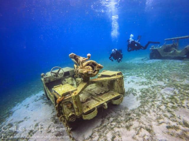 Divers enjoin underwater museum